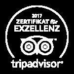 TripAdvisor Zertifikat für Excellenz 2017